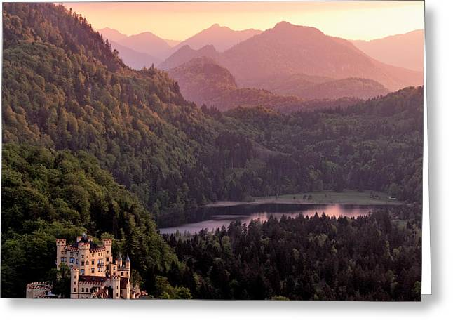 Hohenschwangau Castle, Bavaria, Germany Greeting Card