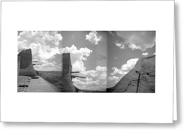 Holga Triptych 5 Greeting Card