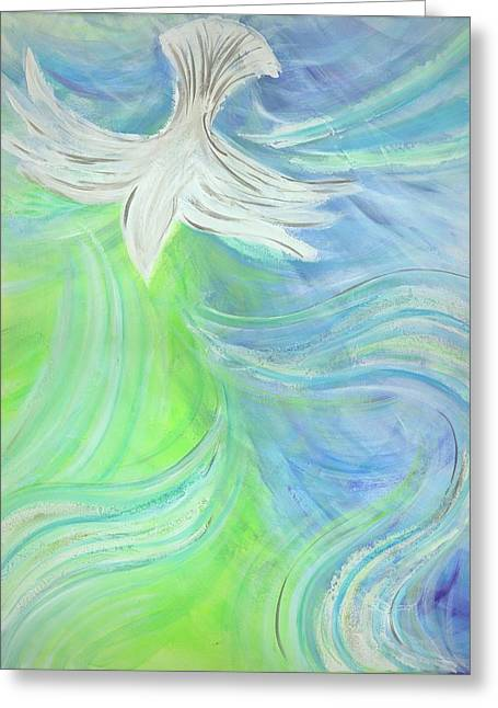 Holy Spirit Outpouring Greeting Card
