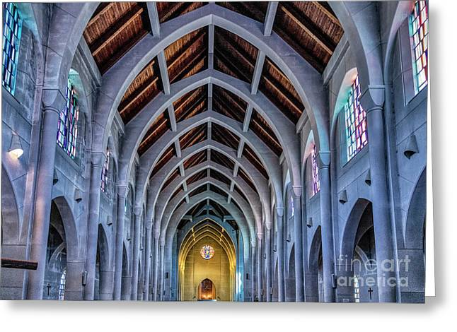 Holy Spirit Trappist Abbey Greeting Card