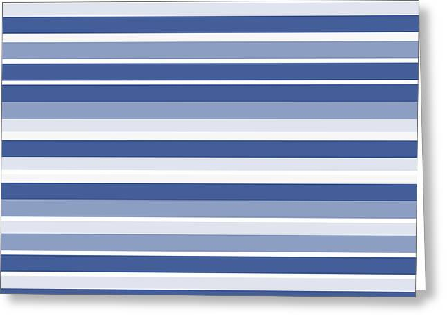 Horizontal Lines Background - Dde607 Greeting Card