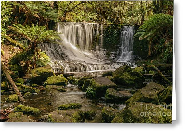 Horseshoe Falls 01 Greeting Card