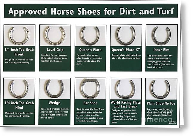 Horseshoes Greeting Card