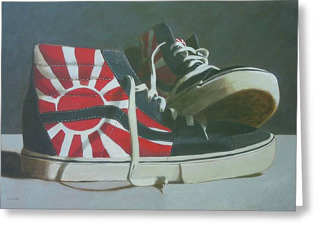 Hosoi Vans Greeting Card