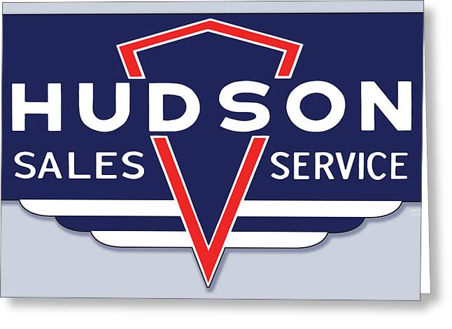 Hudson Motor Co. Greeting Card