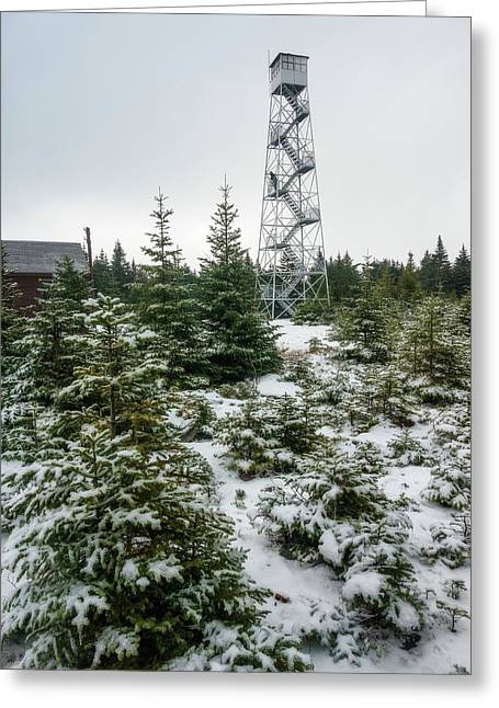 Hunter Mountain Fire Tower Greeting Card