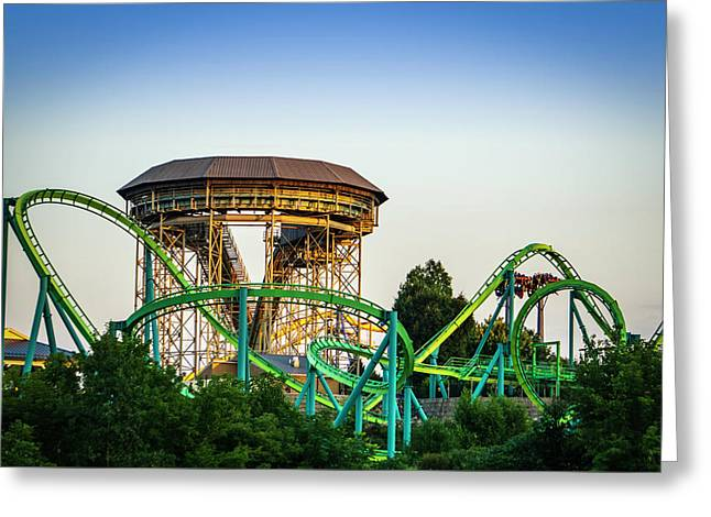 Hydra At Dorney Park Greeting Card