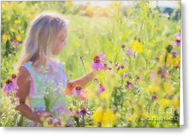 I Would Pick More Daisies ... Greeting Card