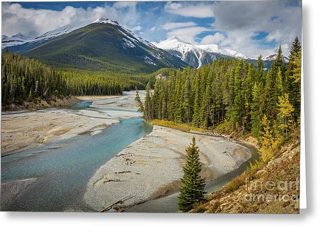 Icefields Parkway Delta Greeting Card