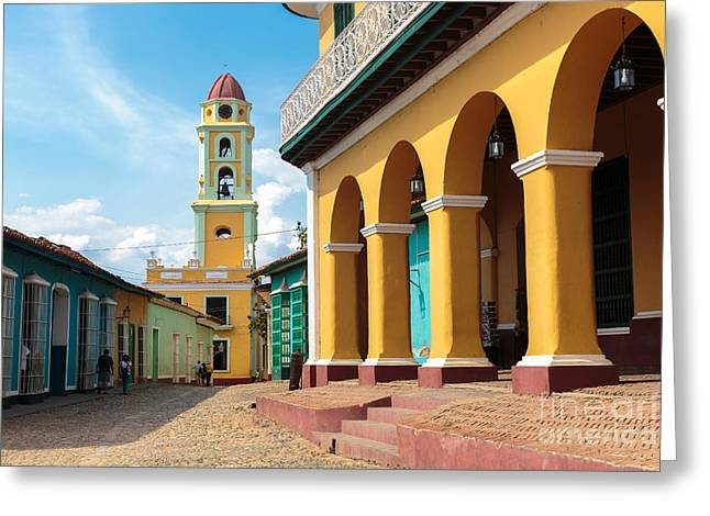 Iconic And Beautiful Tower In Trinidad Greeting Card