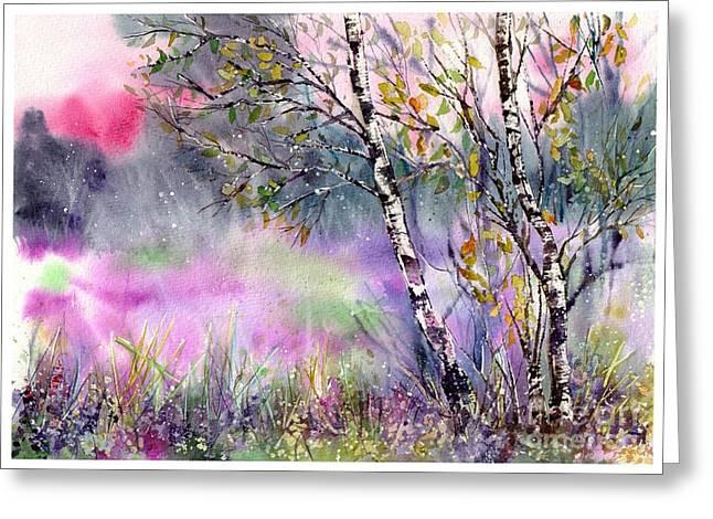 Idyllic Meadow Greeting Card