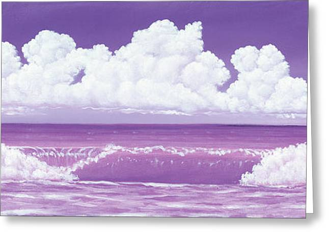 If The Sky Was Purple Greeting Card