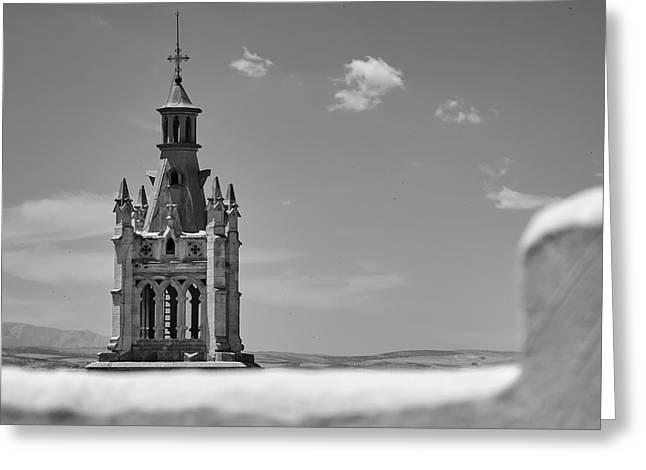 Iglesia Del Sagrado Corazon, Tower. Granada, Spain Greeting Card