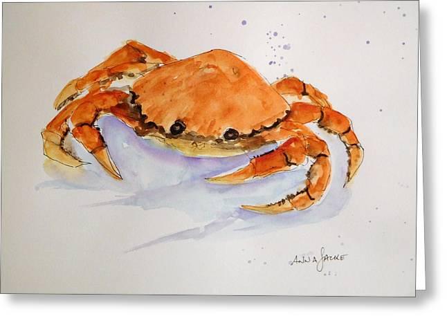 I'm Crabby Greeting Card