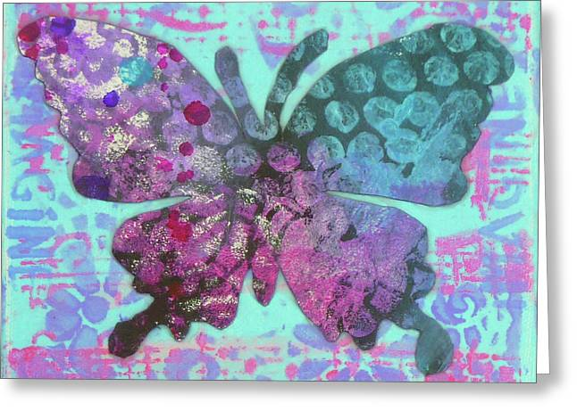 Imagine Butterfly 2 Greeting Card
