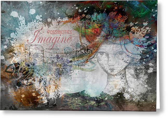 Imagine Possibilities Greeting Card