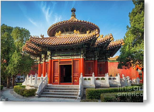 Imperial Garden Greeting Card