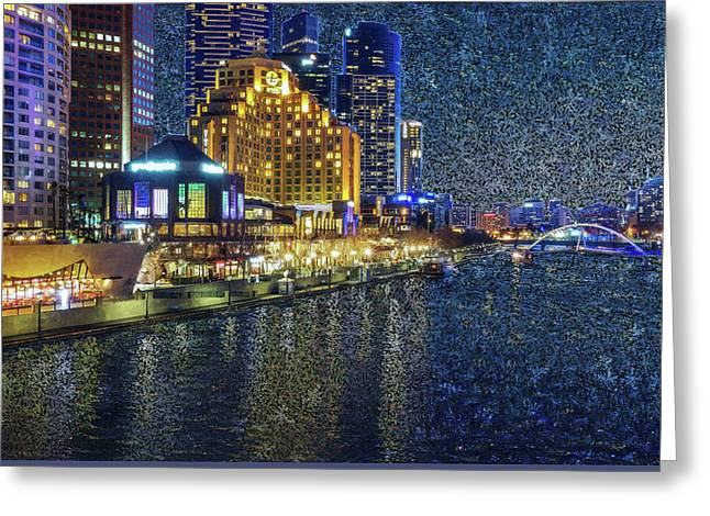 Impression Of Melbourne Greeting Card