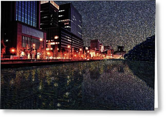 Impression Of Tokyo Greeting Card