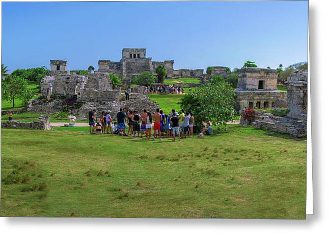In The Footsteps Of The Maya Greeting Card