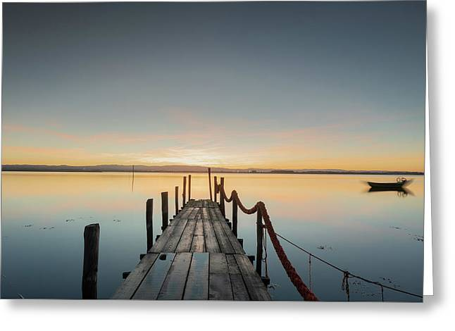 Greeting Card featuring the photograph Infinity by Bruno Rosa