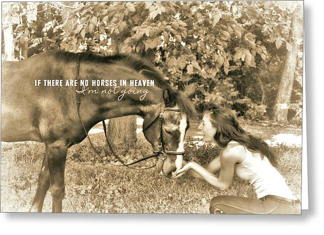 Instant Message Quote Greeting Card by JAMART Photography