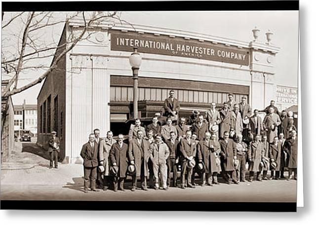 International Harvester Company Greeting Card