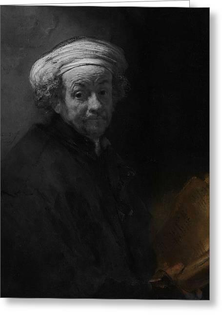 Inv Blend 22 Rembrandt Greeting Card