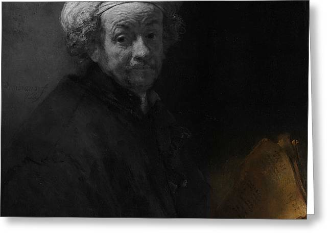 Inv Blend 22 Rembrandt Greeting Card