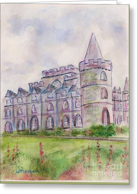 Inverary Castle Greeting Card