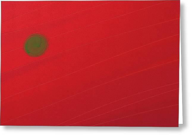 Inverse Sunset Greeting Card