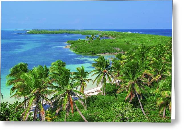 Isla Contoy Greeting Card