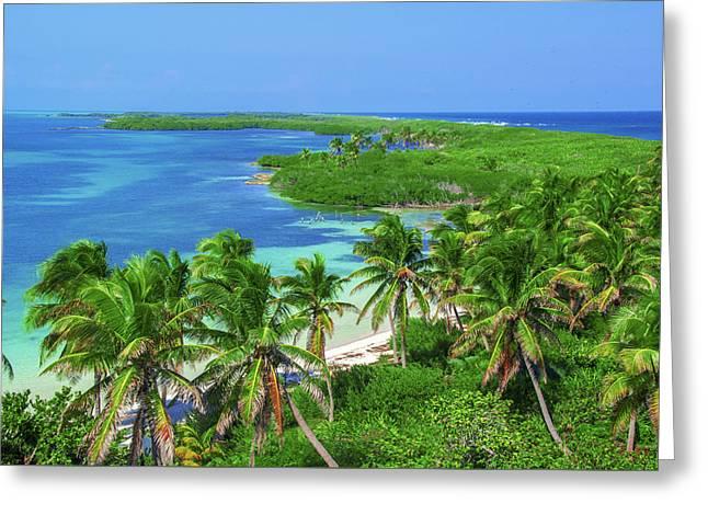 Isla Contoy Greeting Card