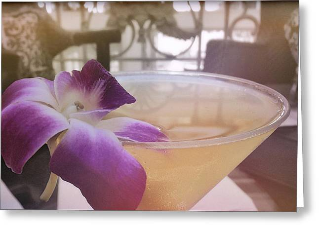 Island Happy Hour Greeting Card by JAMART Photography