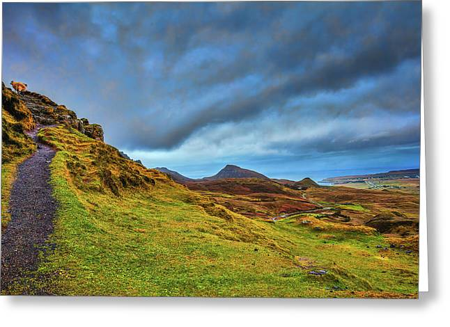 Isle Of Skye Landscape #i1 Greeting Card