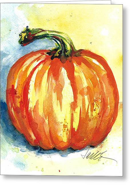 Jack-o-lillie Greeting Card