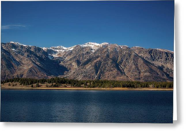 Jackson Lake Wyoming Greeting Card