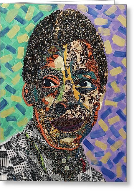 James Baldwin The Fire Next Time Greeting Card