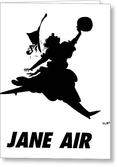 Jane Air Greeting Card