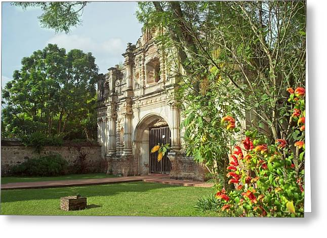 Jesuit Mission At Antiqua Guatemala Greeting Card