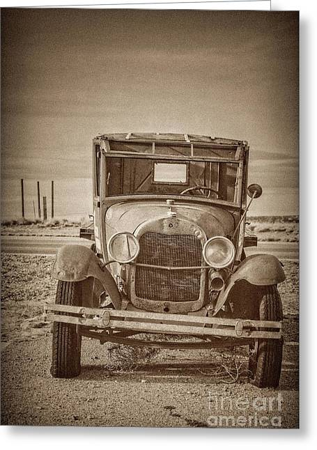 Jilted Jalopy Greeting Card