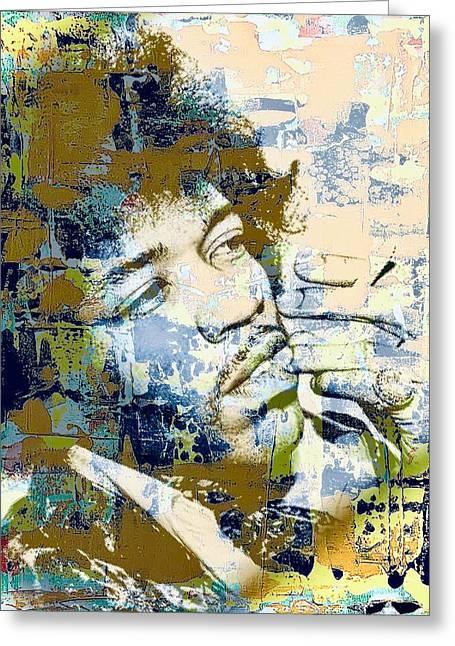 Jimi Soul Greeting Card