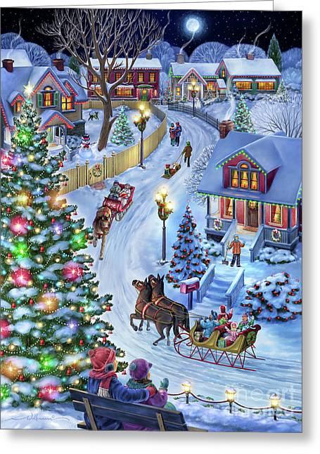 Jingle All The Way Greeting Card