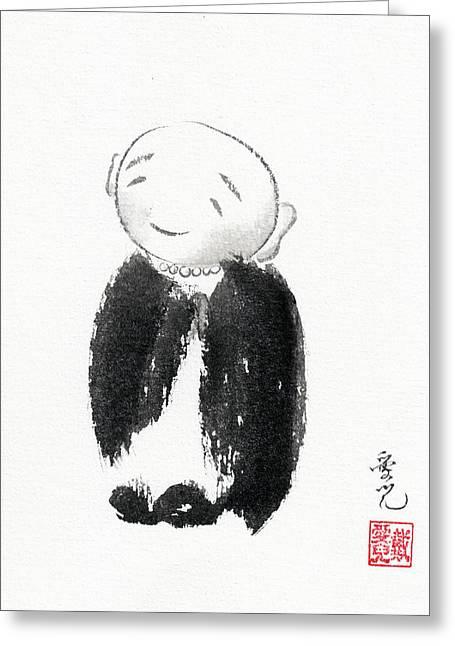 Jizo Greeting Card