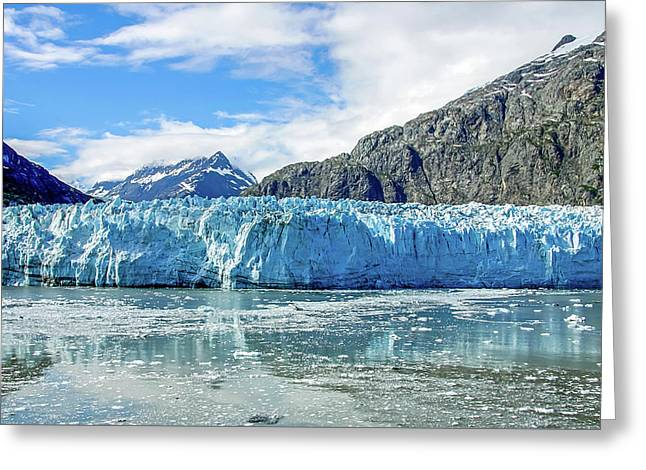 John Hopkins Glacier 1 Greeting Card