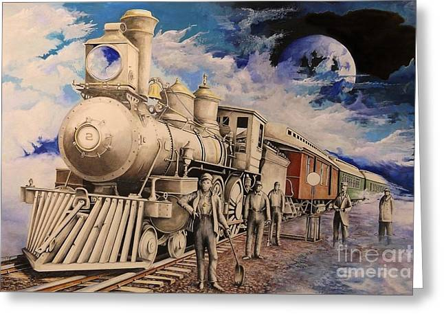 Journey Through The Mists Of Time Greeting Card