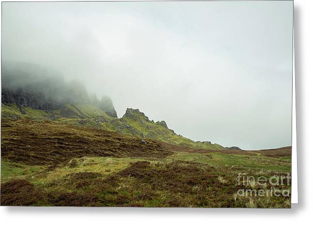 Journey To The Quiraing Greeting Card