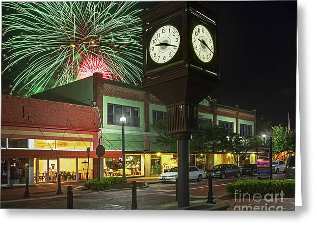July 4th Sanford, Florida Greeting Card