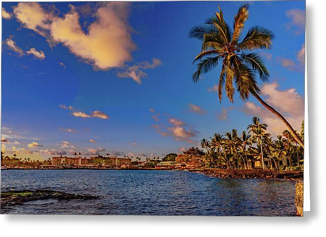 Kailua Bay Greeting Card