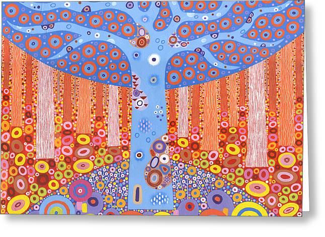Kaleidoforest Greeting Card